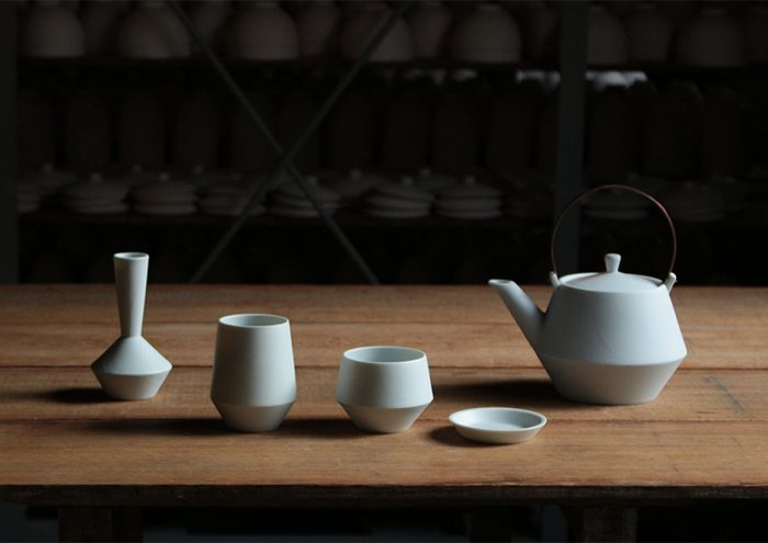 現代の暮らしに合わせたお茶の時間を。岐阜の老舗窯元と静岡のデザイナーで作る現代の茶器「frustum」シリーズ