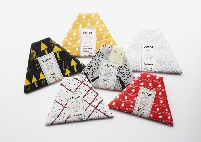 桜島をモチーフにしたパッケージが可愛い!鹿児島県のクラフトチョコレートブランド「kiitos」