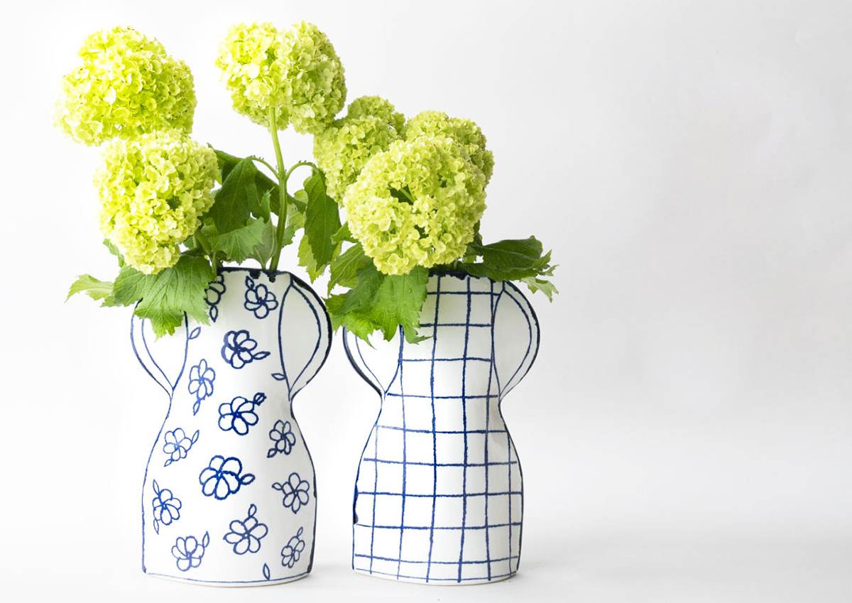 2Dと3Dを行き来するような作風が魅力的!スウェーデンの陶芸作家マリアンヌ・ハルバーグと瀬戸焼のコラボレーション。
