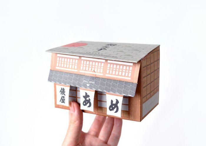 お店の外観がパッケージに!金沢・飴の俵屋が作る北陸新幹線5周年記念限定「飴ん子」