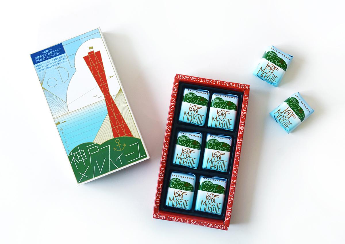 マッチ箱のようなレトロなパッケージが可愛い!兵庫県・コンディトライ神戸の「神戸メルスィーユ」