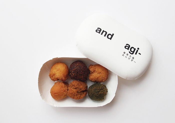 鹿児島県・奄美大島のひと口サイズのサーターアンダギー「and agi-」