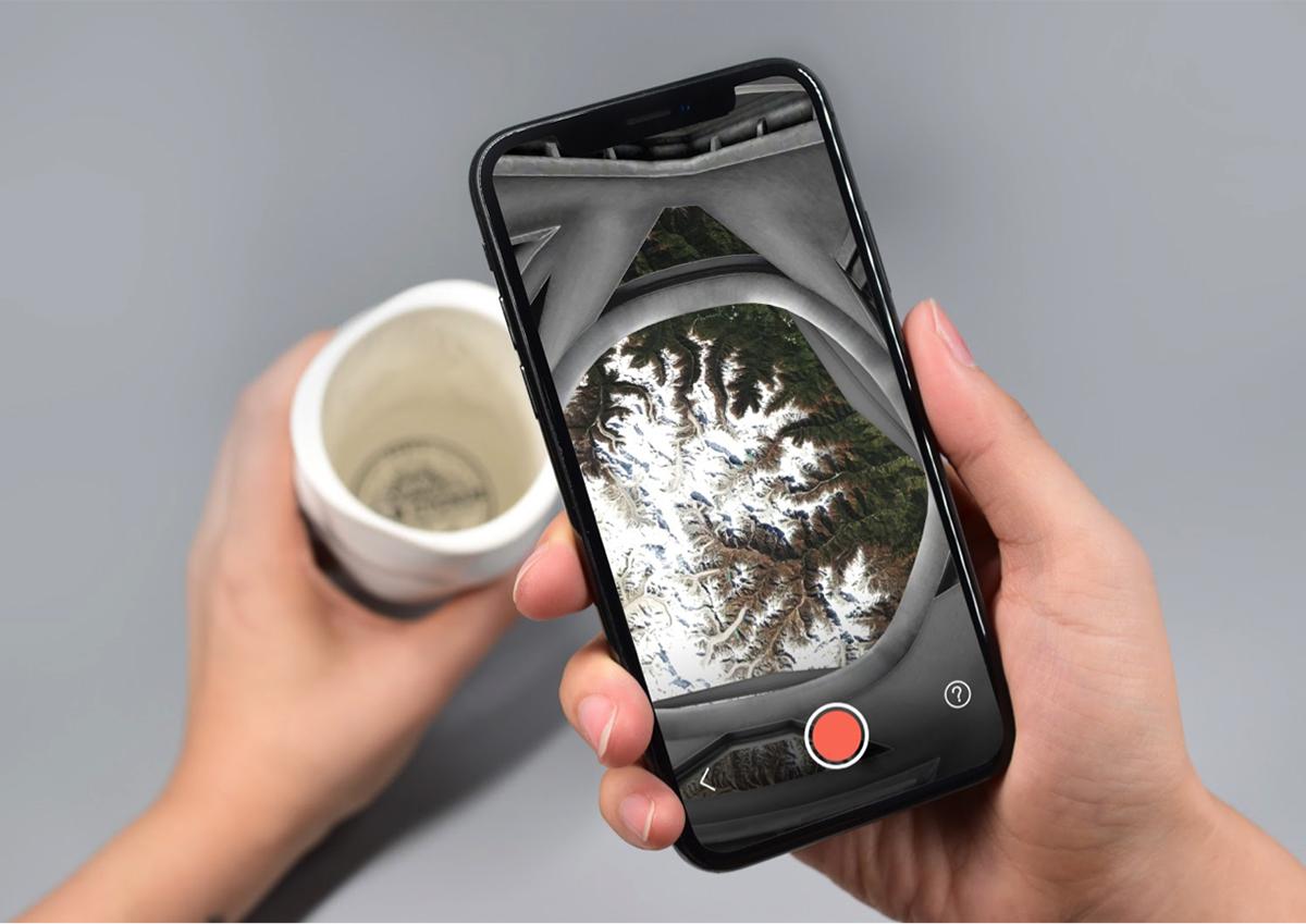 おうちで宇宙旅行気分!? ARで宇宙の姿を楽しめるマグカップ「NASA Space Mug」