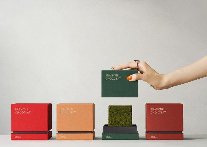 立方体が印象的。素材にこだわった新食感スイーツ「カレ・オ・ショコラ」