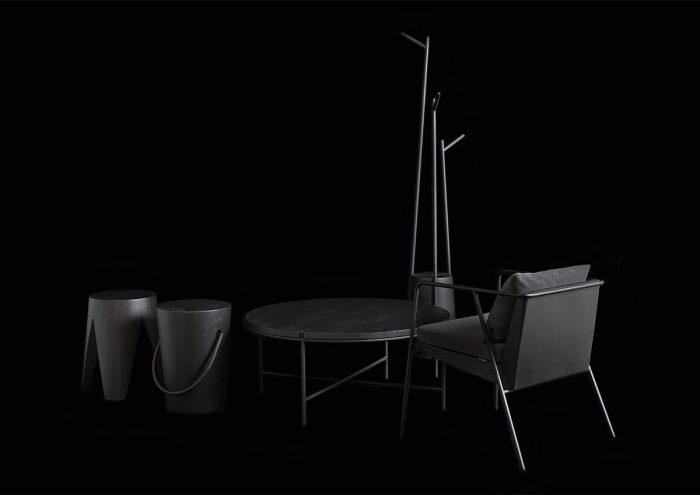 阿蘇の風物詩「野焼き」にインスパイアされた家具ラインMASS シリーズ「SUMI LIMITED」