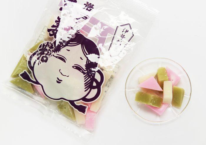 お多福のパッケージが目印!昔なつかしい三重・伊勢の銘菓「生姜糖」