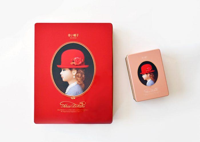 レトロな缶がかわいい!アソートクッキー「赤い帽子」のパッケージがリニューアル