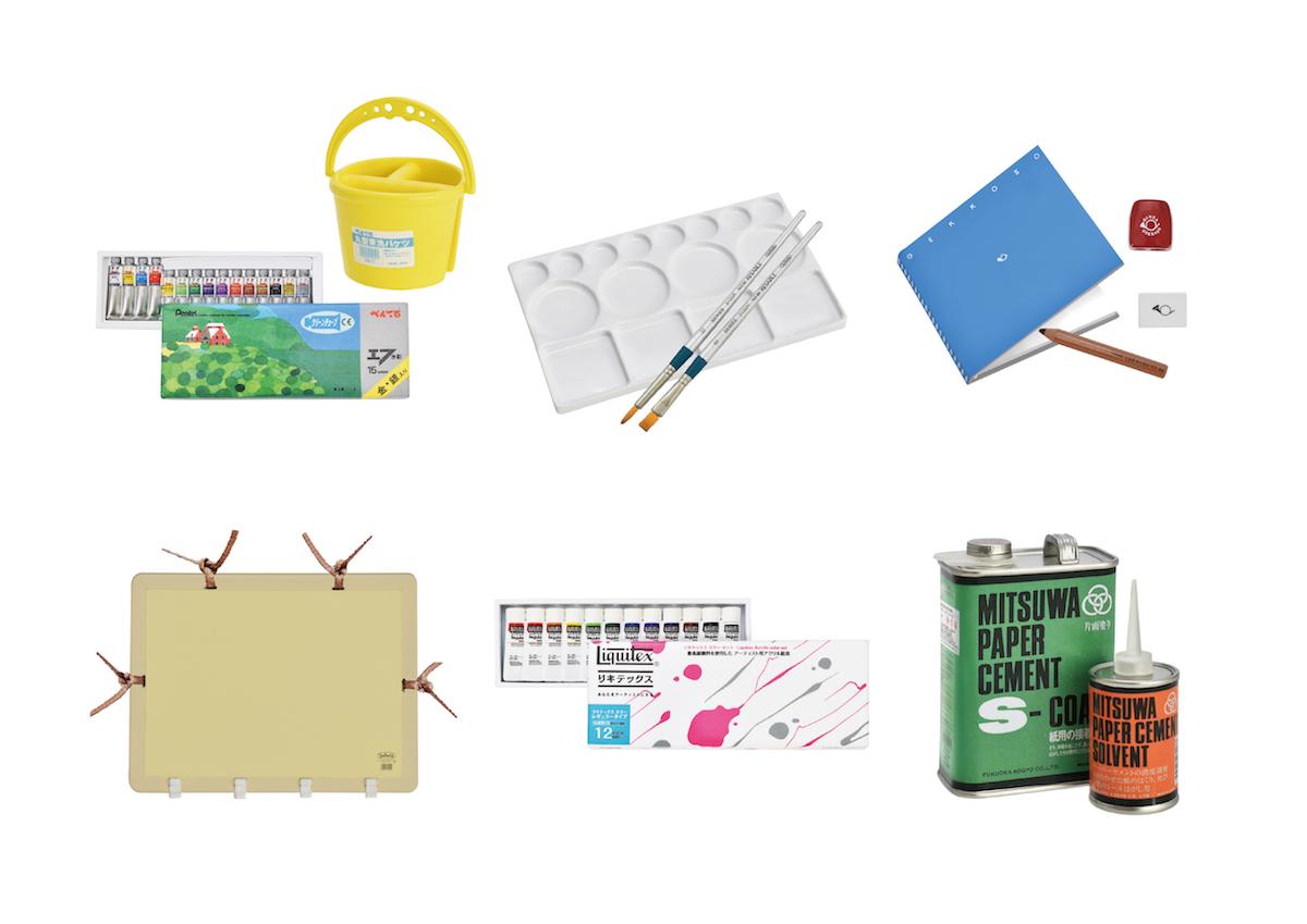 ぺんてるやリキテックスなど、ベストセラー画材がミニチュアに!?新発売の「The Art tools Miniature Collection」が気になる。