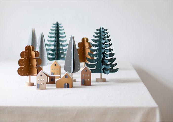 おうちクリスマスにぴったり!北欧の空気を纏う「Jurianne Matter」のペーパークラフト