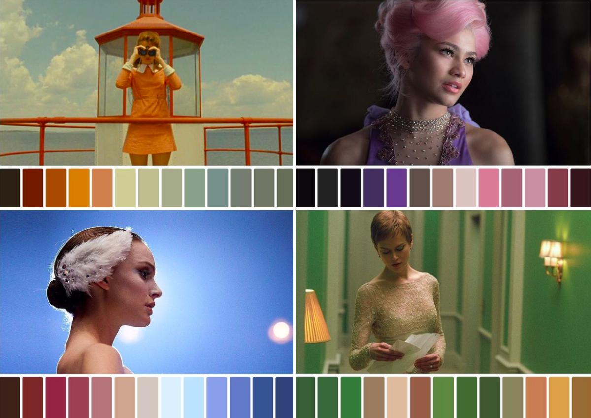 映画のワンシーンの色彩設計を集めた「filmandcolor」に注目!
