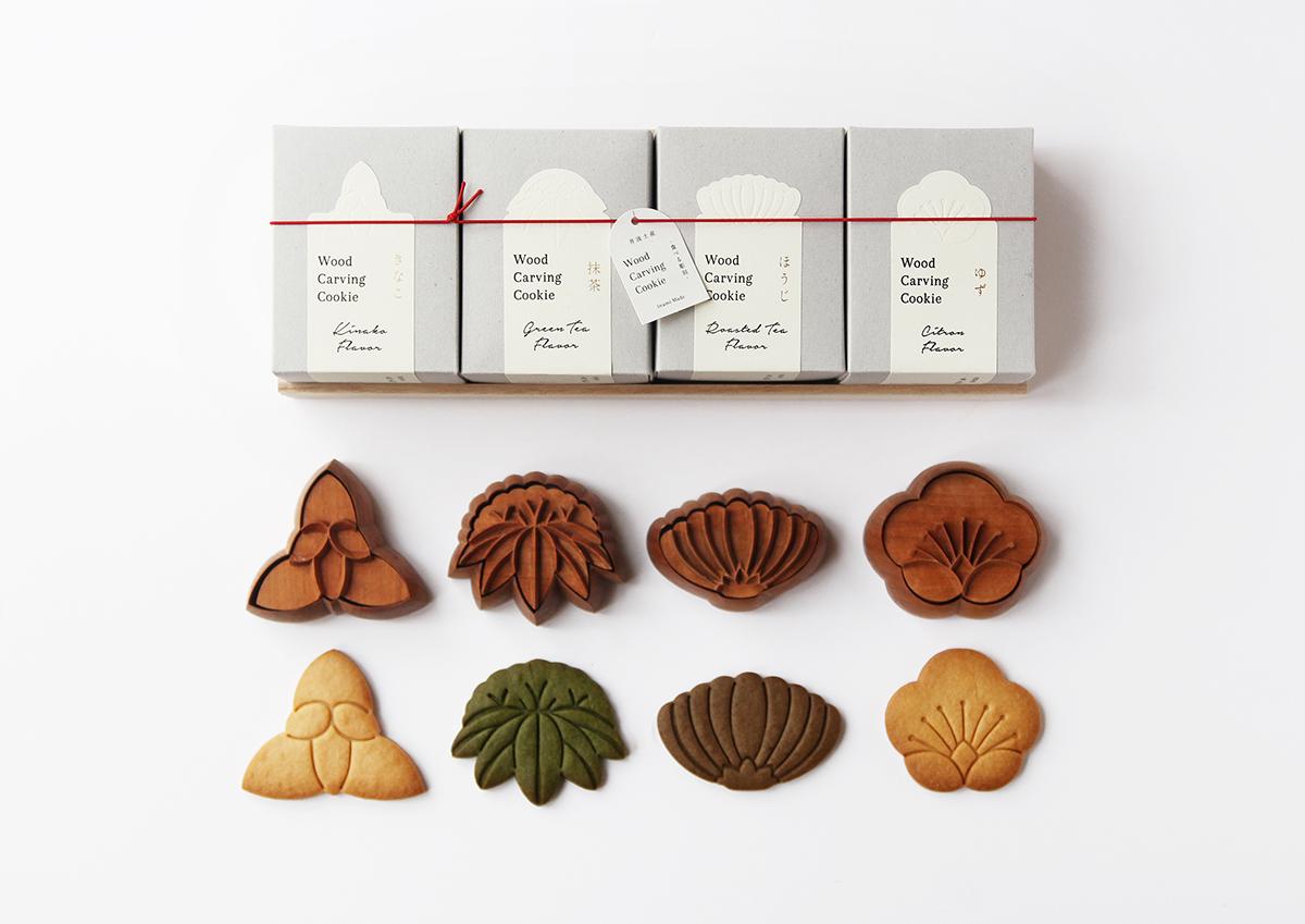 彫刻の町・富山県井波の、まるで本物の彫刻作品のように美しい「食べる彫刻クッキー」