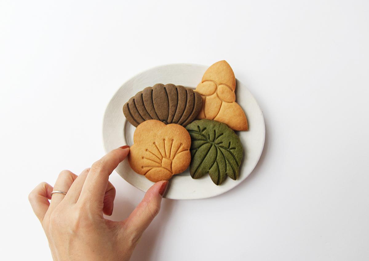 食べる彫刻クッキー
