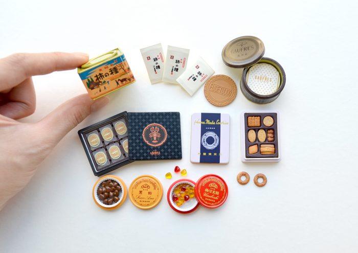 あの伝統銘菓がミニチュアに。思わず手土産と一緒に贈りたくなる!?「銘菓 ミニチュアコレクション」