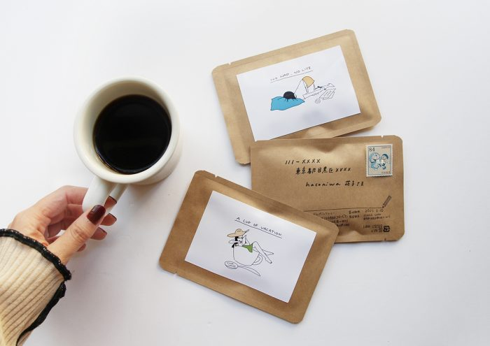 大切なあの人に、言葉と一緒にひとときを贈れる。ハガキ型のコーヒー「Hitotoki Letter」
