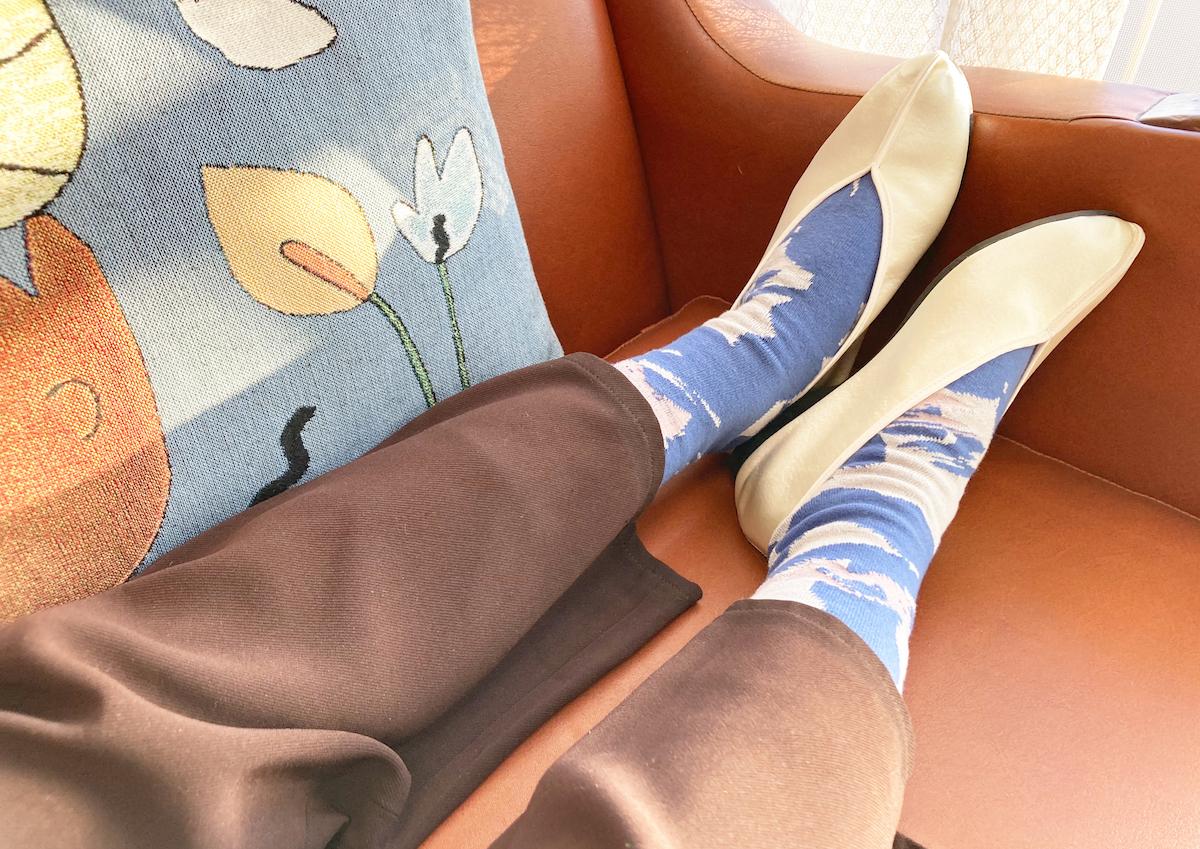 アーティスティックな柄を足元に。切り貼りしたグラフィックがかわいいソックス・テキスタイルブランド「TUO YAN SET」