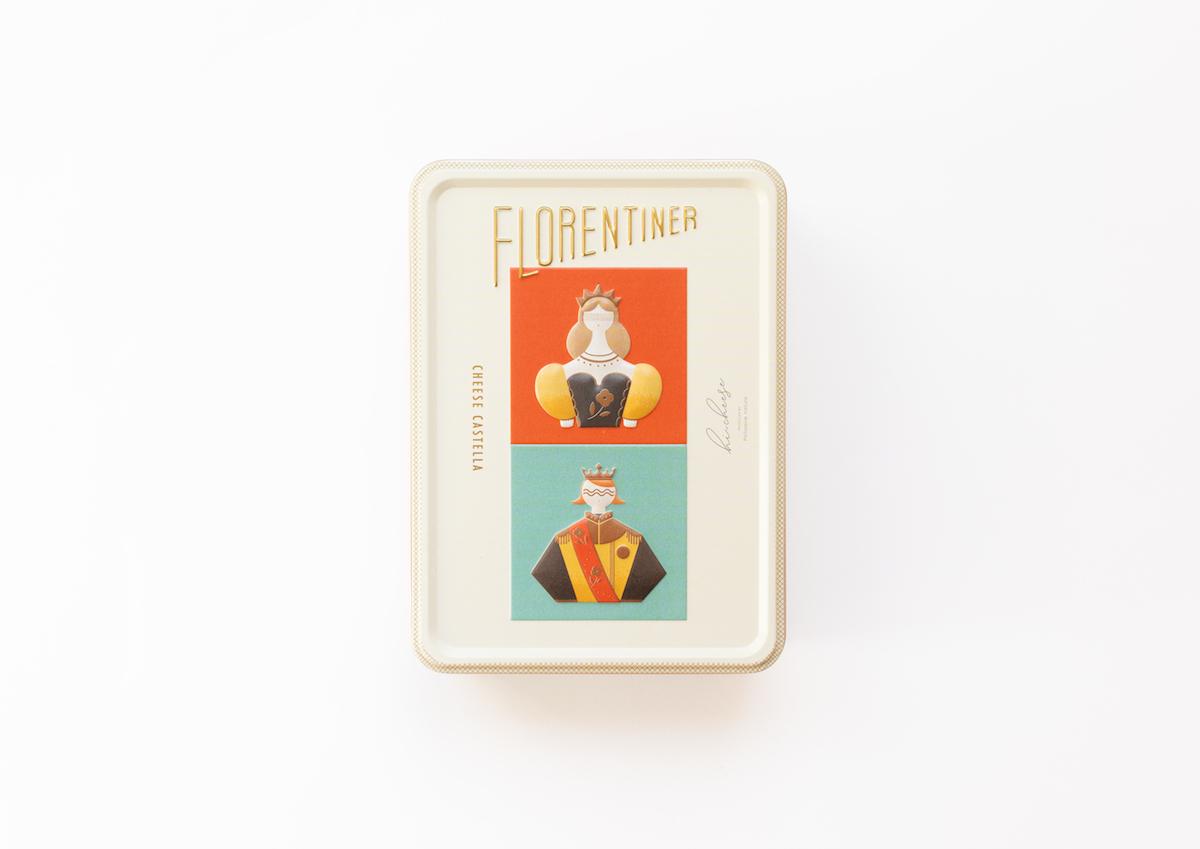 立体的な王子さまとお姫さまのイラストがかわいい!大阪・hi-cheeseの「フロレンティーナ」