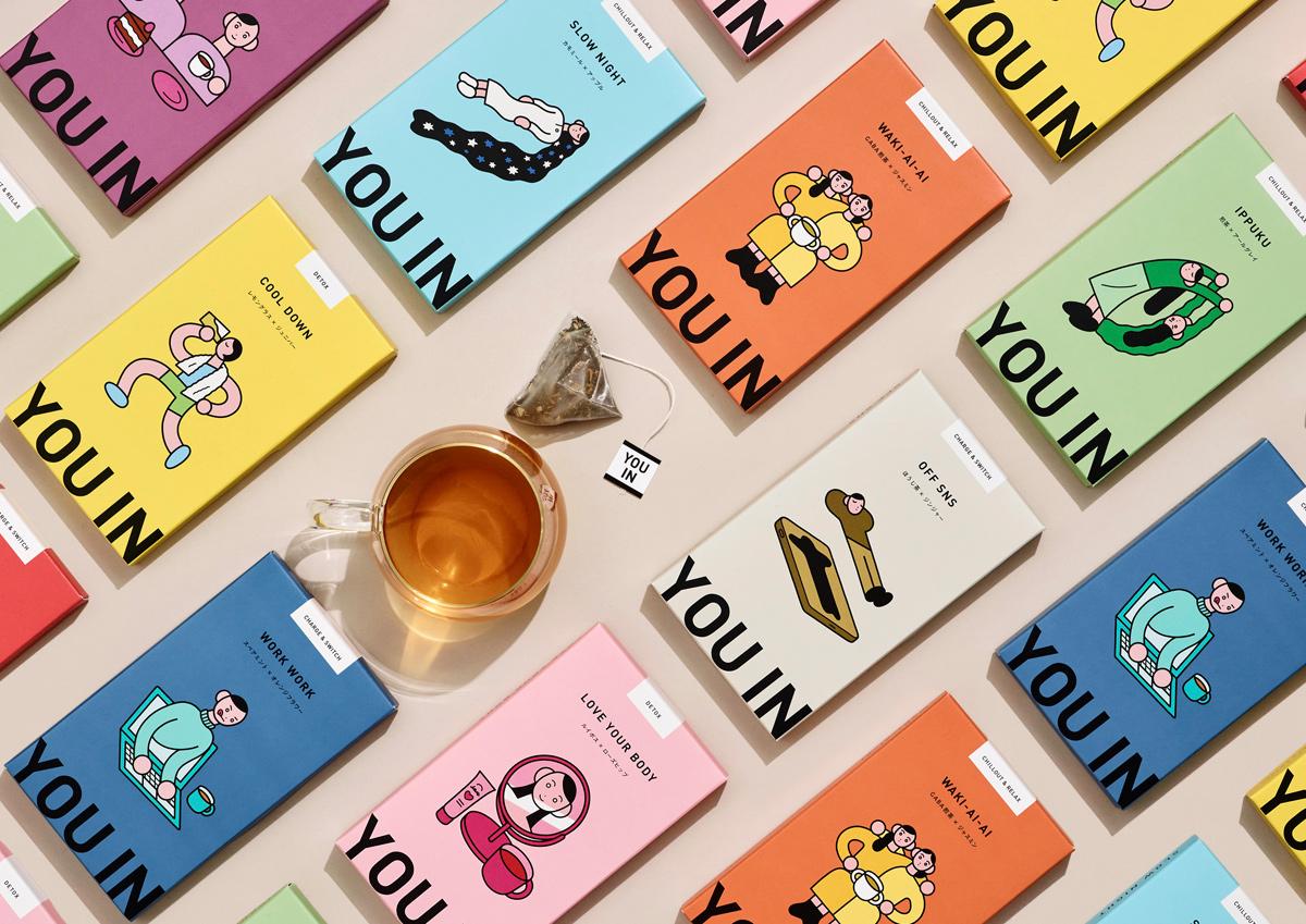自分の気分や状態にあったお茶を選べる。ムードペアリングティー「YOU IN」が気になる!