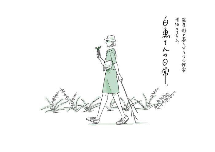 温泉街で暮らすうつわ作家 椎猫のコラム「白魚さんの日常」vol.5