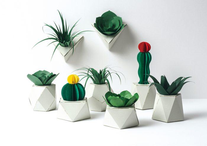 まるで本物!すべて紙でできた、新しいカタチの植物インテリア「PAPELANTS」