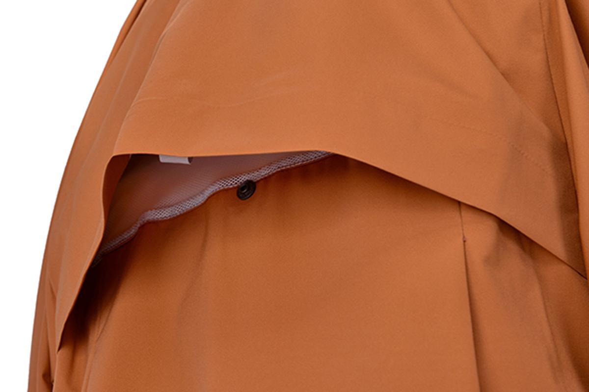 千總の雨コート