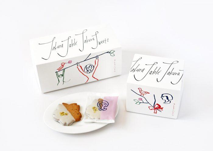 デザインユニットKIGIが描く季節限定パッケージが素敵!富山・サクラススイーツの「サクラサブレ 」