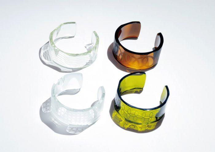 """身に着けるSDGs?空き瓶をリサイクルした夏らしいアクセサリー「GLASS-LAB NEW PRODUCT """"WA""""」"""