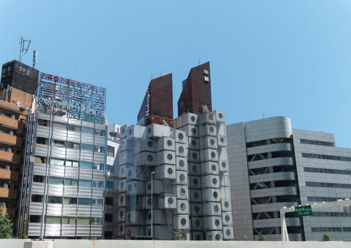 解体予定の名建築「中銀カプセルタワービル」、カプセルを美術館寄贈や宿泊施設へ。クラウドファンディング実施中!