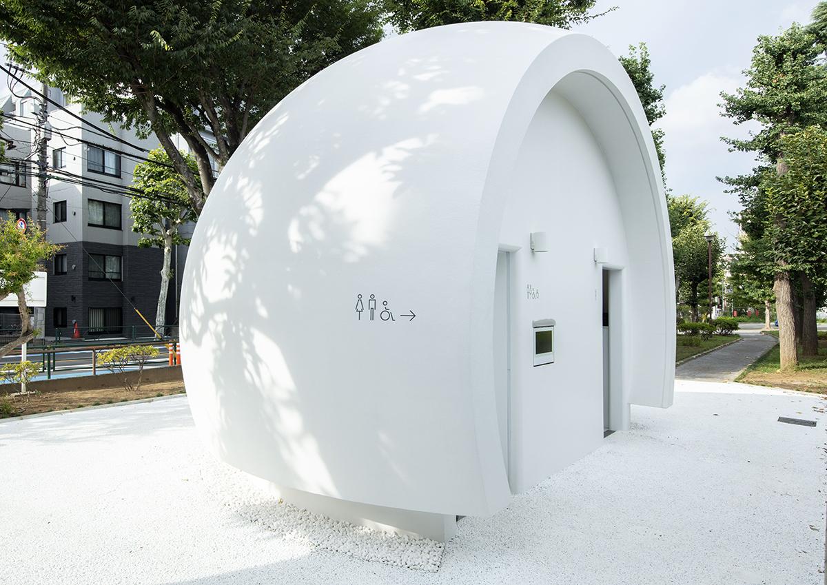 クリエイターが新しい公共トイレをつくる「THE TOKYO TOILET」プロジェクトの12ヵ所目が幡ヶ谷「七号通り公園」に。