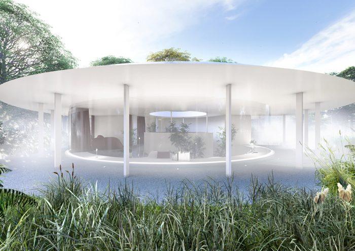 建築とアート、自然が融合。新時代の宿泊施設「ONEBIENT 神通峡」が2022年秋・富山にオープン