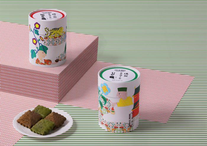 老舗お茶屋とクッキー専門店がコラボ!パッケージに注目な新作スコッツ「りQ」「そうQ」