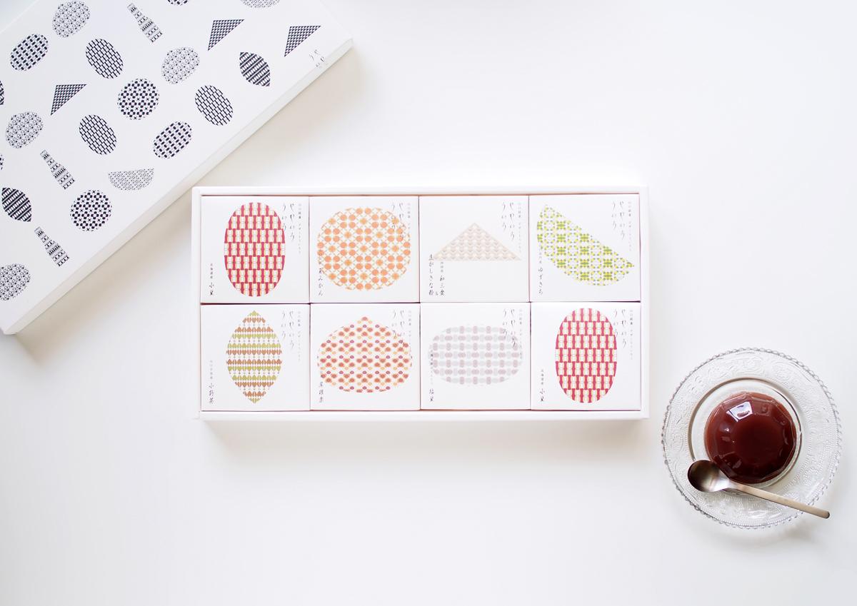 洗練されたパッケージデザインが魅力!スプーンですくって食べる新感覚ういろう、山口・果子乃季の「やわいろういろ」