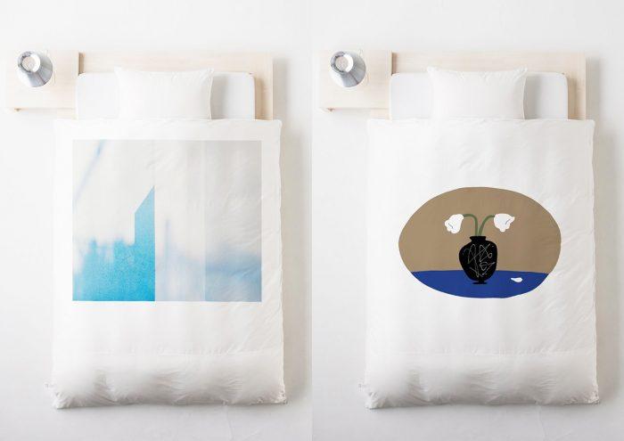 アートと眠る体験を。若手アーティスト9名とコラボレーションした「cover/cover」の布団カバーに注目!